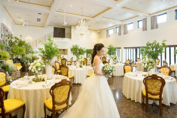 津市の結婚式場 シャトー ラ・パルム・ドール