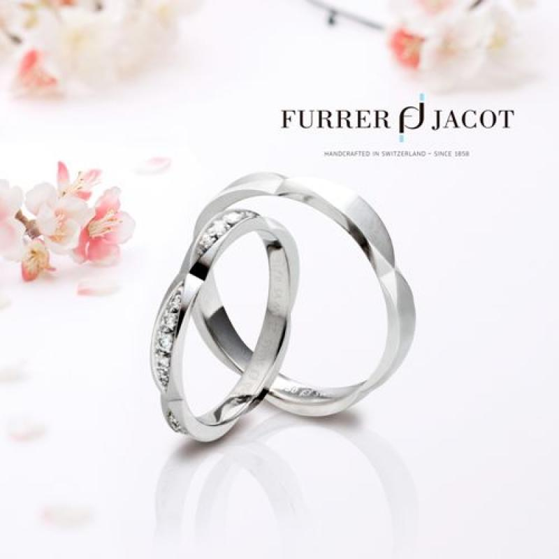 【FURRER-JACOT】スイスのブランド。確かな伝統と、常に時代と呼応したオリジナルな創造性を探求したリング。シルクのような指通りがポイント