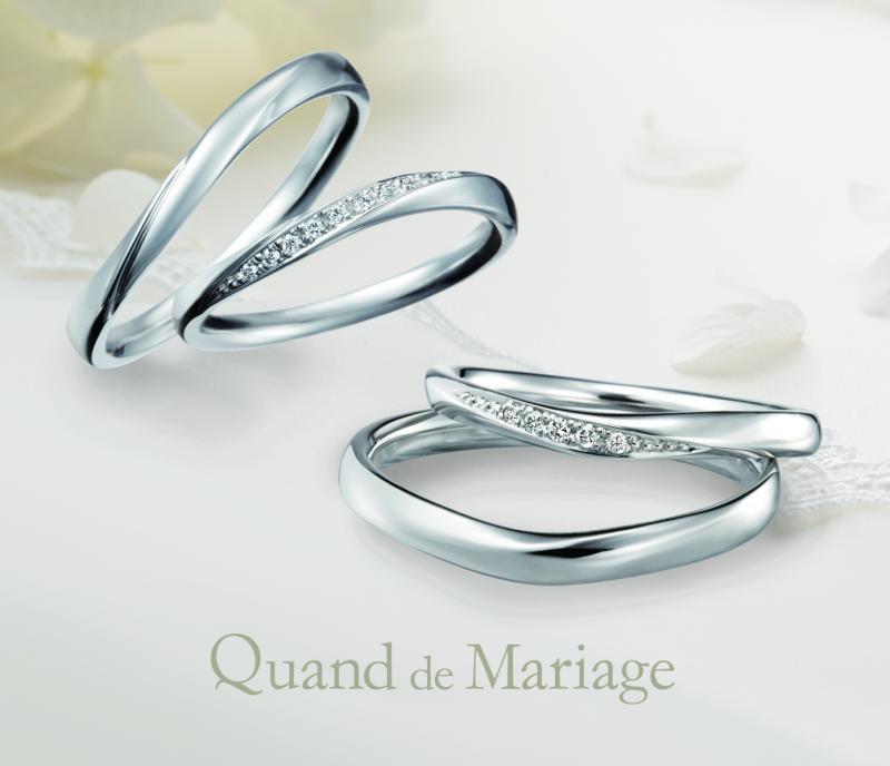 """【Quand de Mariage】[Quand:クワン]には""""時・いつも""""という意味があります。ふたりの出逢いやこれまでの過ごしてきた時間をいつまでも大切にしてほしいとい..."""