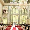 ヴェネチアホールでは、教会式、人前式スタイルの挙式が挙げられます。また披露宴・パーティー会場としてもご利用できます。憧れのヨーロピアンウエディングが...