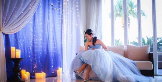 お姫様になりたいの♡ 最新可愛いプリンセスラインドレスまとめ♡