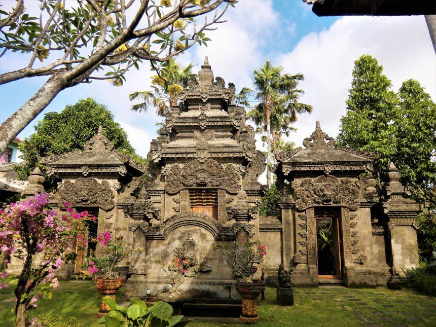 バリ島 中庭